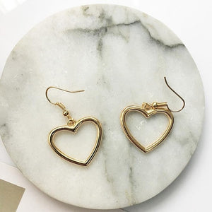 Heart Earrings Love Earrings Women Gifts
