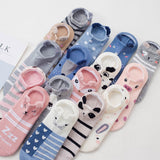 Women Cotton socks Summer Short Socks Women Casual Soft Funny Socks