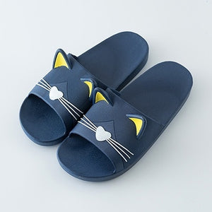 Cat Home Slippers 36-45 Non-slip