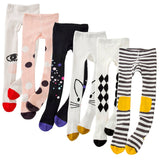 Girls Tights Cartoon Cat