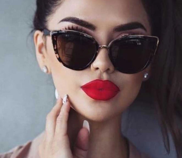 Cat eye Sunglasses Women Vintage