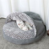 Pet Warm Soft Warm Cat Bed House Cats Dogs