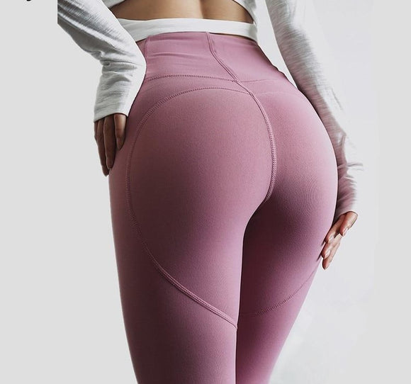 Shaping high waist yoga leggings
