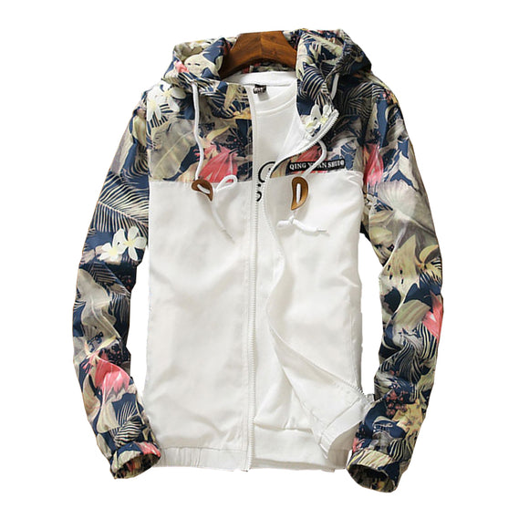 Spring Women's Hooded Jackets Summer Causal windbreaker