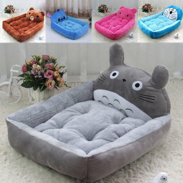 Petgear.co.nz Cartoon Totoro Stitch Pikachu Dog Bed