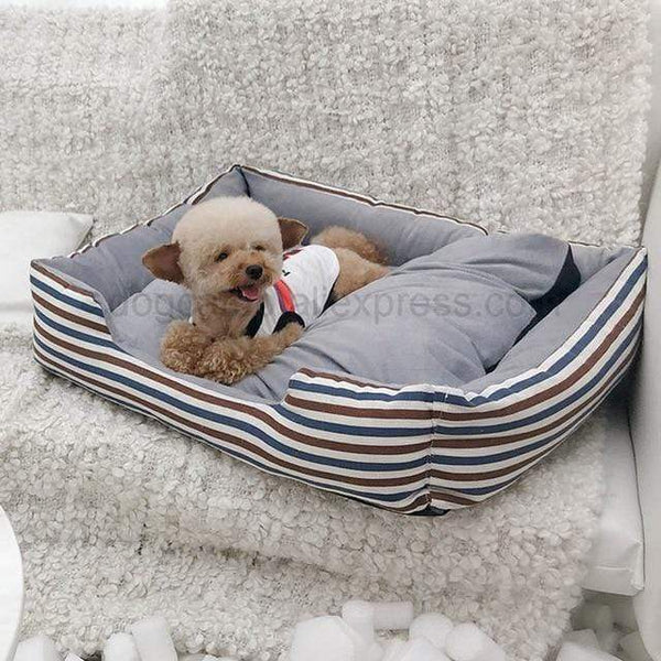 Petgear.co.nz Detachable Canvas Pet Bed Warming Sofas