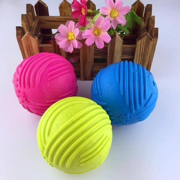 Petgear.co.nz Dog Toy Squeaking Bouncing Ball Durable Floatable
