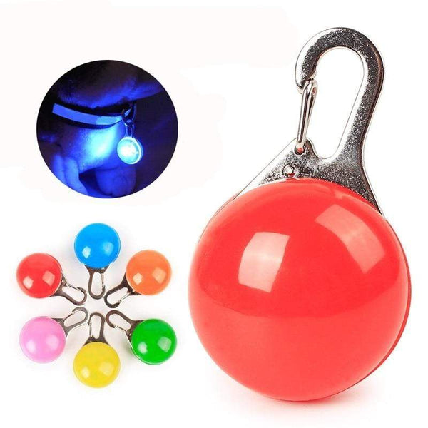 Petgear.co.nz Night Safety LED Flashlight Cat or Dog Collar Glowing Pendant