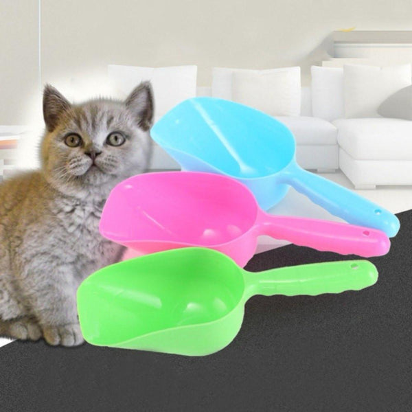 Petgear.co.nz Pet Dry Food Spoon Plastic Hand Shovel