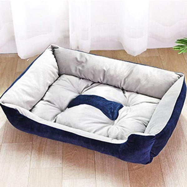 Petgear.co.nz Plush Bone Dog Bed For Large Dogs