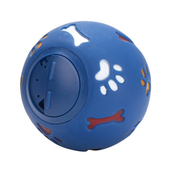 Petgear.co.nz Red Pet Trumpet Sound Leakage Food Ball