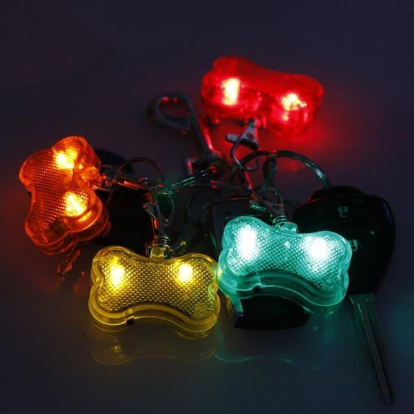 Petgear.co.nz Safety Flashing Dog Collar LED Light Tag Pendant