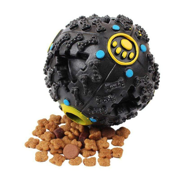 Petgear.co.nz Toys Dog Squeaky Chew Ball Treat Holder
