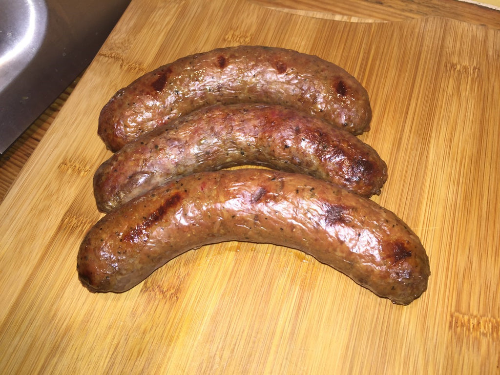 Steak & Liver Sausage, $16/lb - 5BarBeef