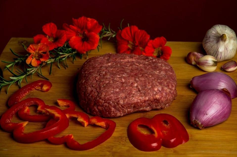 Ground Beef, $9/lb, 1.3-1.6 pound packages - 5BarBeef
