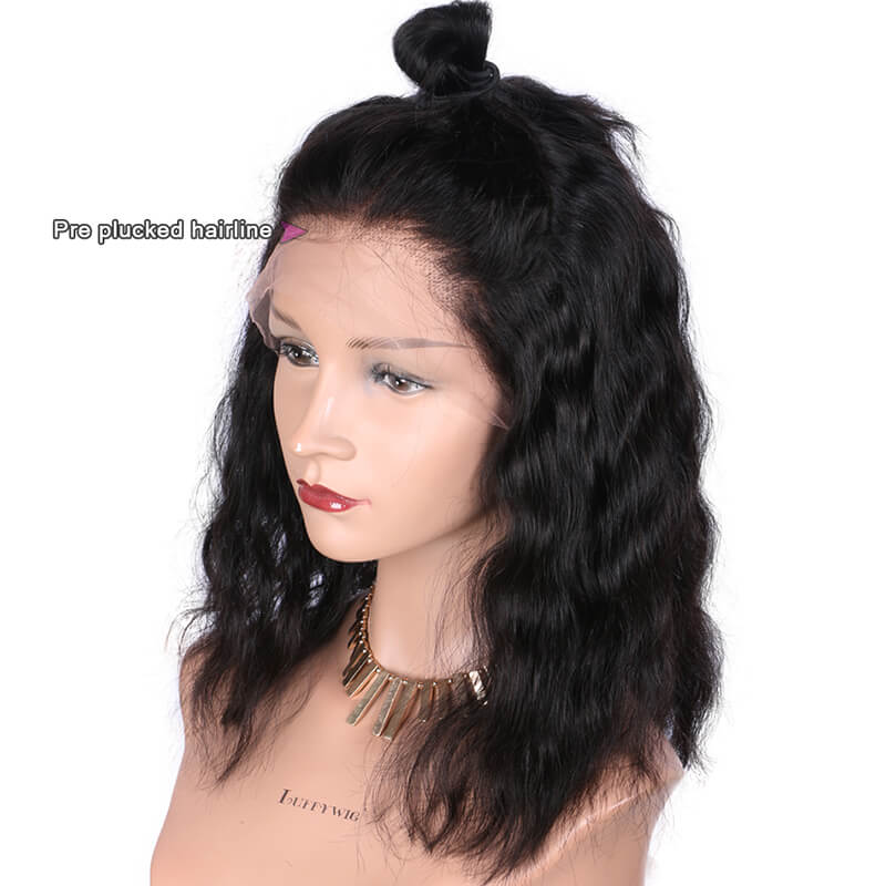 Msbeauty 13x6 Wavy Lace Front Short Bob Wig 2019 Fashion Wig - MSBEAUTY HAIR