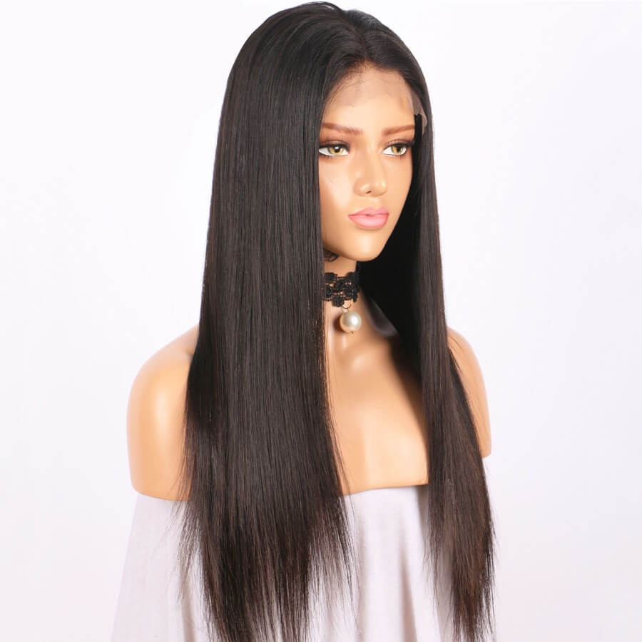 Msbeauty 2019 Spring New Fashion Full Lace Silky Straight Wig 180% Density - MSBEAUTY HAIR