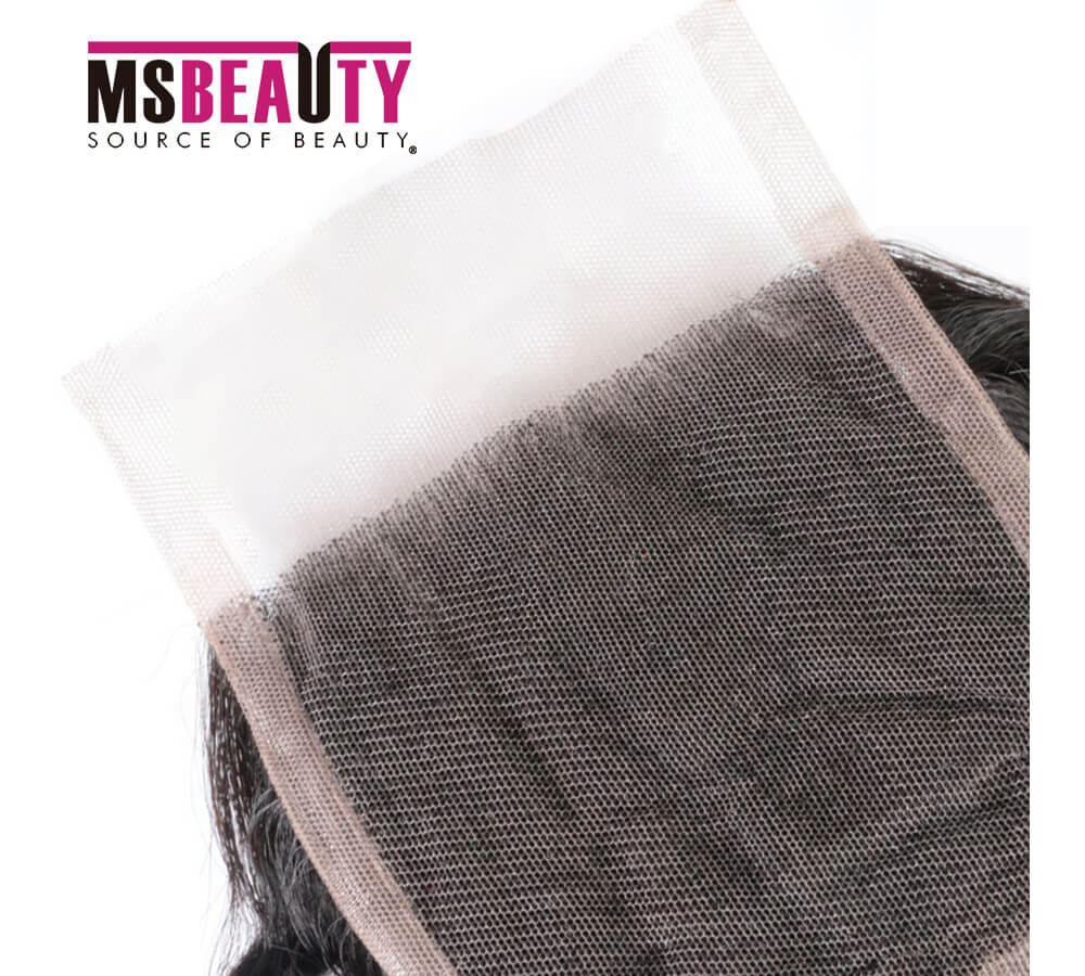 Msbeauty Virgin Human Hair Brazilian 4x4 Kinky Curly 10A Free Part Lace Closure - MSBEAUTY HAIR