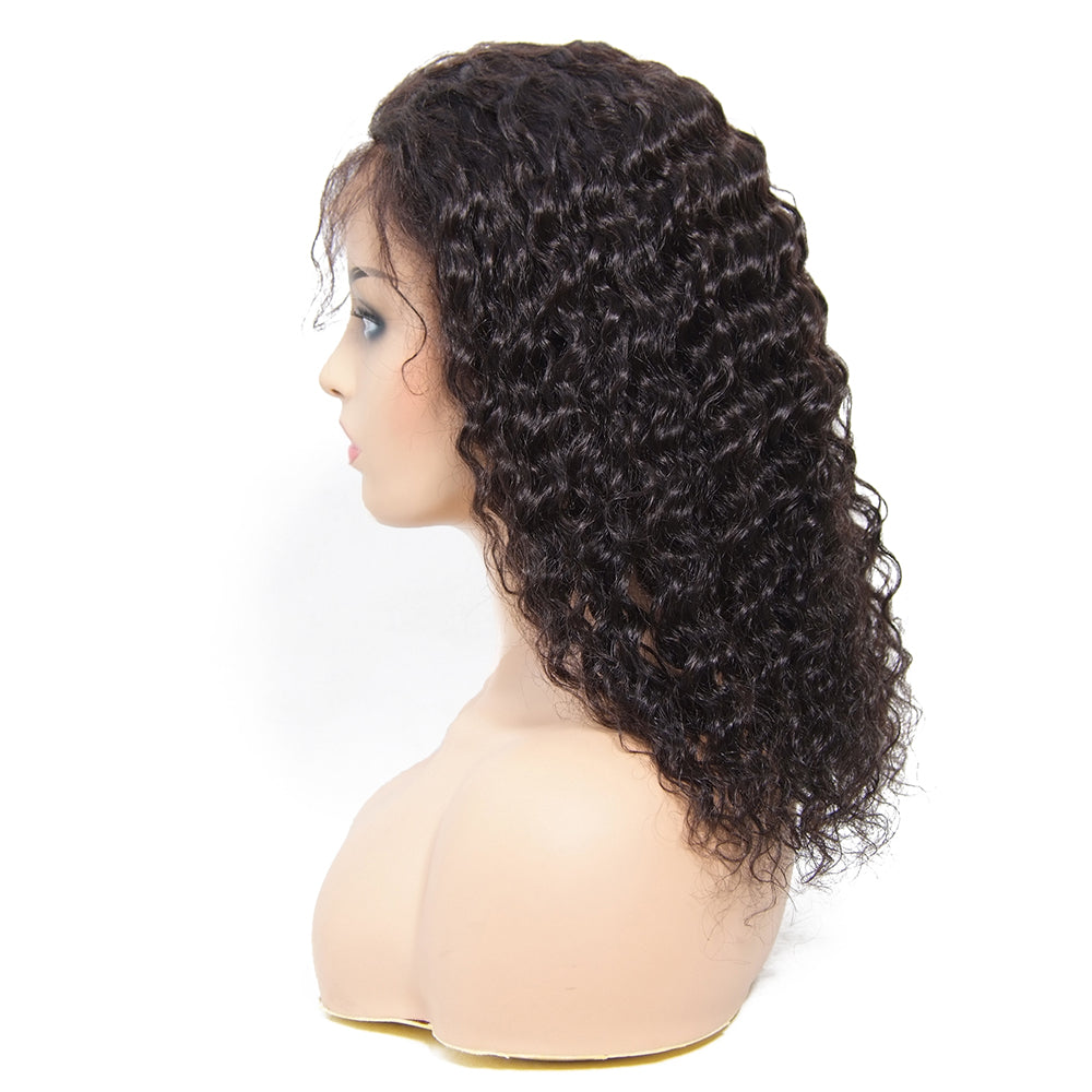 180% Density Lace Front Curly Wigs Human Hair 2019 Best Seller Human Hair Wigs - MSBEAUTY HAIR