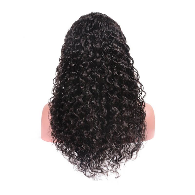 Msbeauty Full Lace 180% Density Pre Plucked Water Wave Brazilian Hair Lace Wig - MSBEAUTY HAIR