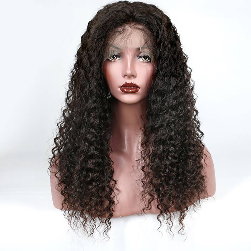 2019 Lace Wig Best Seller Quality Full Lace Wig Curly Hair Free Part - MSBEAUTY HAIR