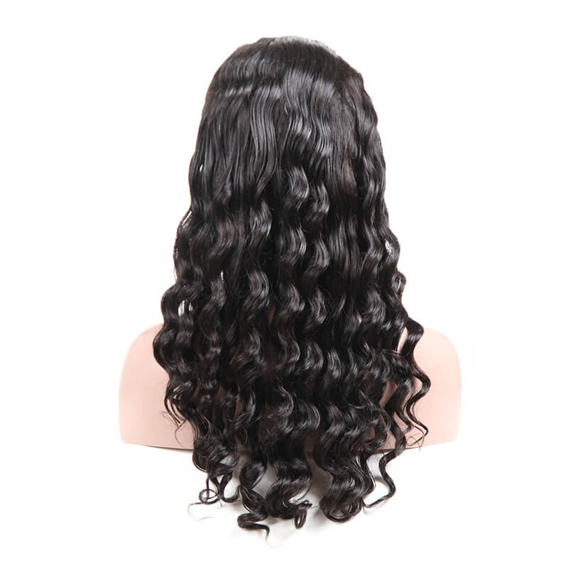 Msbeauty 13x6 Lace Front Loose Wave Top Quality Human Hair Lace Wigs For Woman - MSBEAUTY HAIR