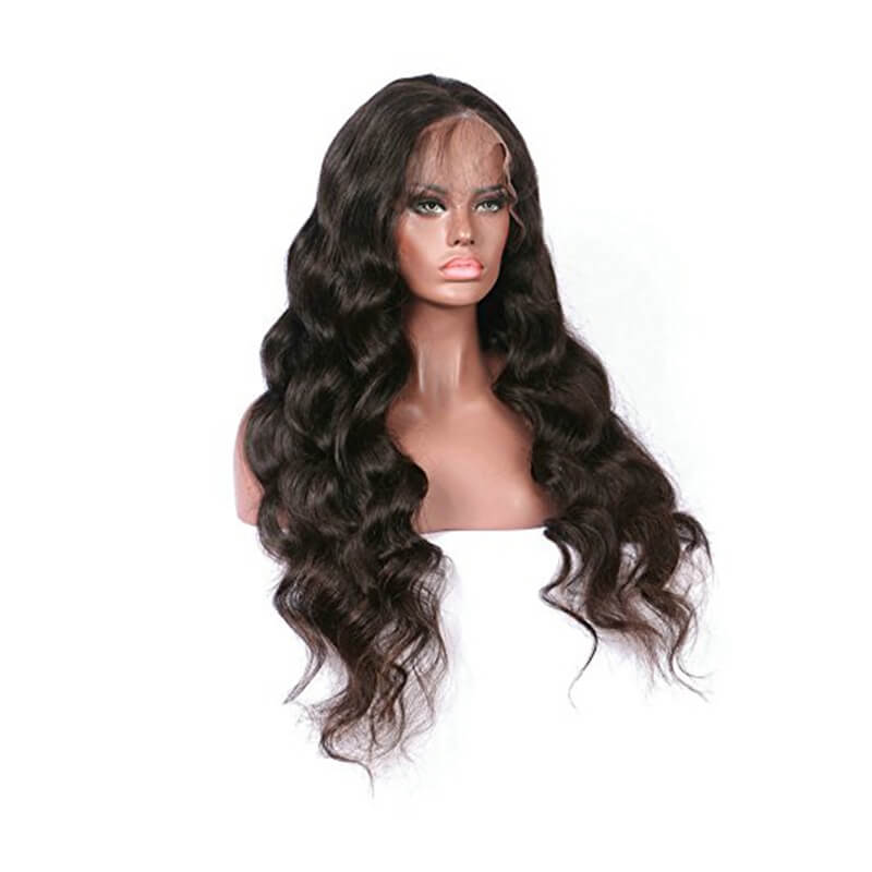 Msbeauty 13x6 Lace Front Body Wave 200% Density Long Wavy Quality Human Hair Wig - MSBEAUTY HAIR