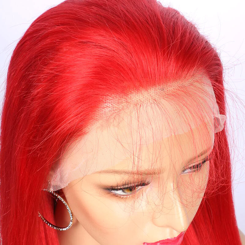 2019 Spring Trendy Lace Front Silky Straight Quality Human Hair Lace Wig With Baby Hair Pre Plucked - MSBEAUTY HAIR