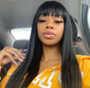 13x6 Lace Front Wigs Silky Straight Virgin Human Hair  Wigs For Black Woman - MSBEAUTY HAIR
