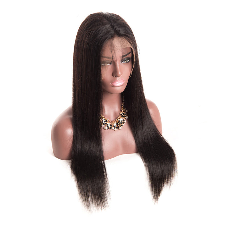 Msbeauty Silky Straight 360 Lace Front Human Hair Wig For Woman - MSBEAUTY HAIR
