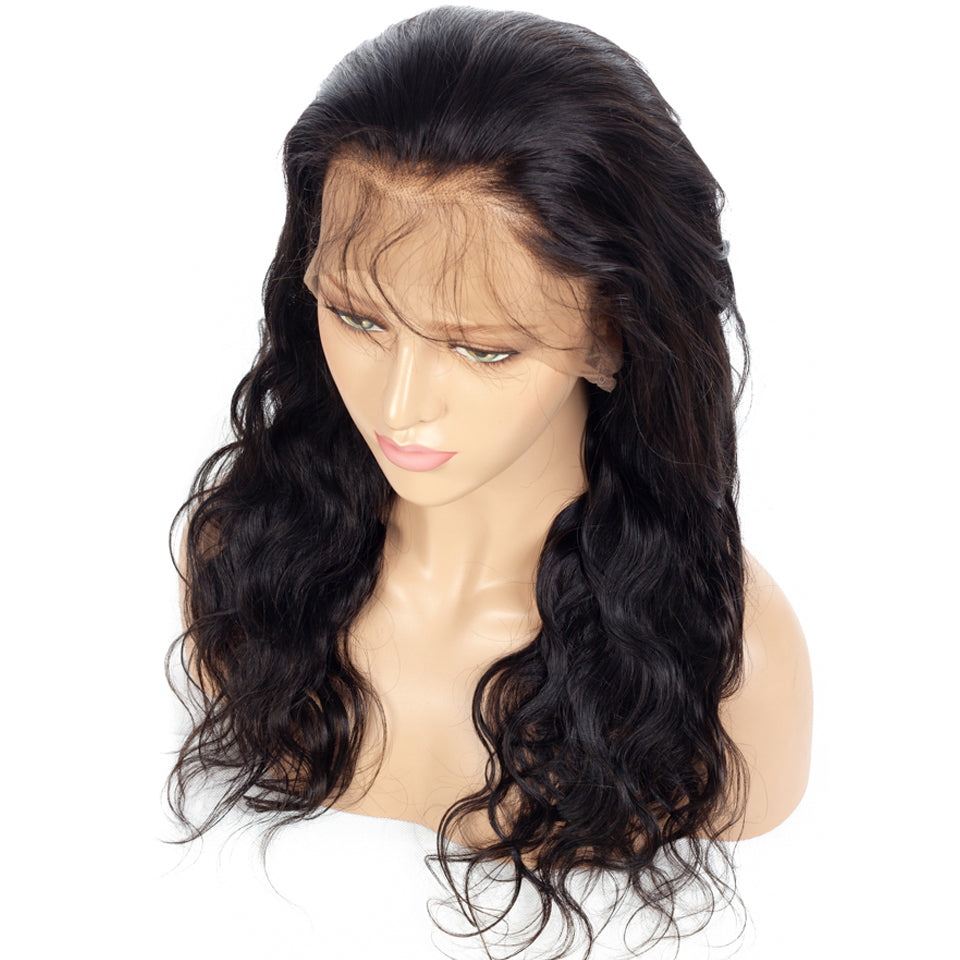Msbeauty Brazilian Body Wave Wig 100% Human Hair Lace Front Wig - MSBEAUTY HAIR