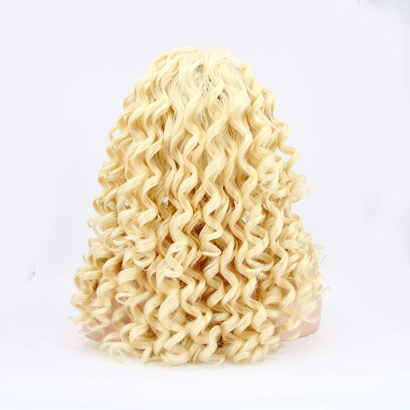 Instagram Best Seller Loose Wave Lace Front Blonde Wigs 170% Density - MSBEAUTY HAIR