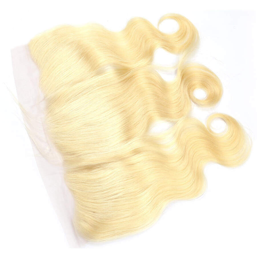 Msbeauty 10A Body Wave Blonde Virgin Hair Bundles 3 Pcs Sales With 13x4 Lace Frontal Closure - MSBEAUTY HAIR