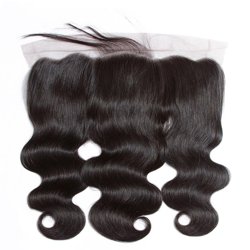 Msbeauty Grade 8A Peruvian Body Wave Human Hair 3 Bundles And 13x4 Lace Frontal Closure - MSBEAUTY HAIR
