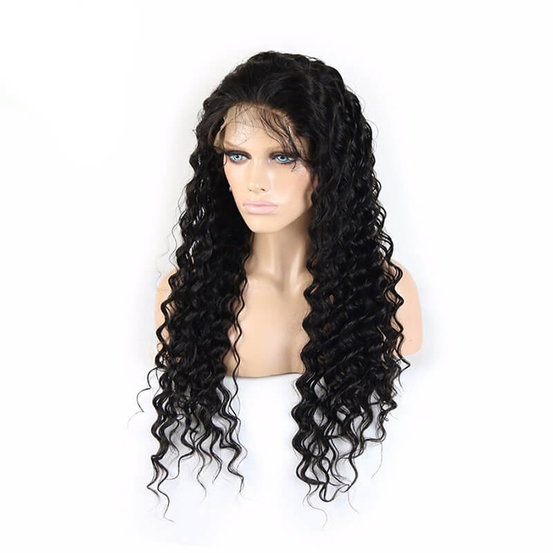 Msbeauty Deep Wave Lace Front Wig Real Human Hair 2019 Trending Wig - MSBEAUTY HAIR