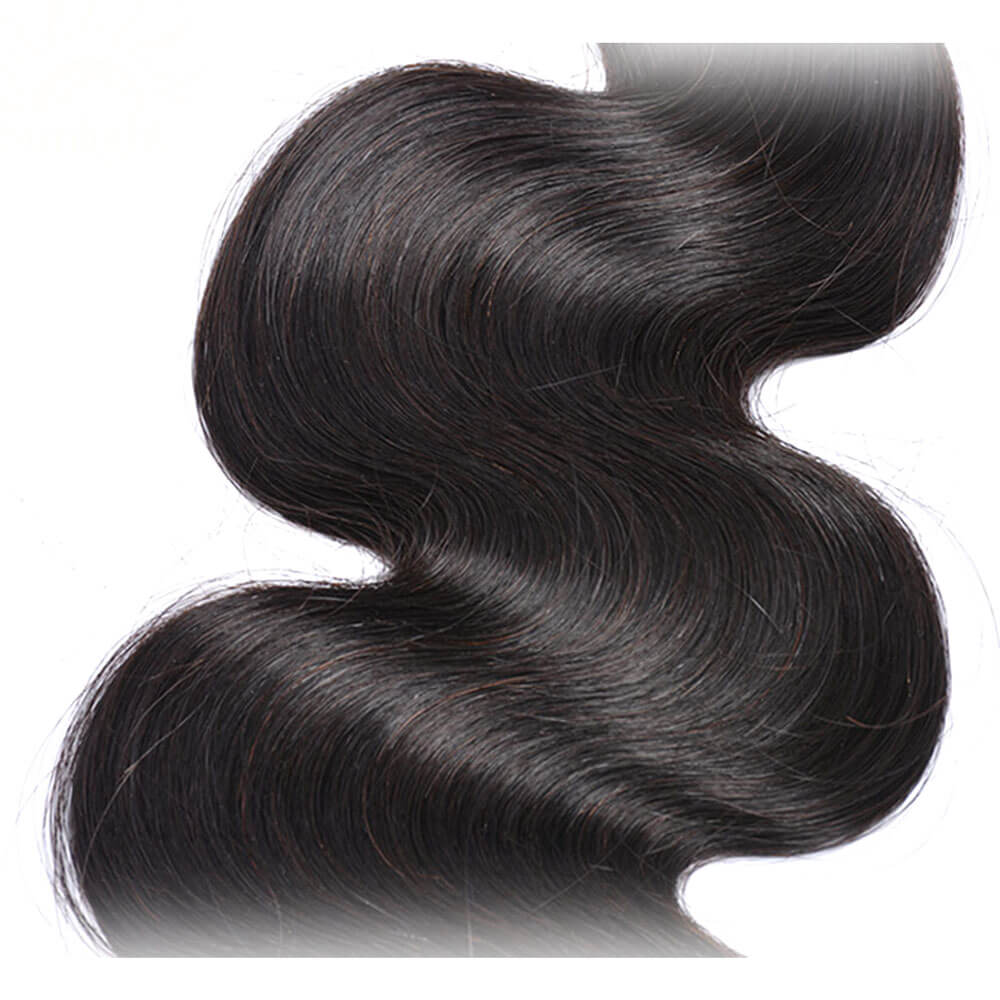 Msbeauty Indian Remy Unprocessed Body Wave Human Hair 4 Bundles Deal - MSBEAUTY HAIR