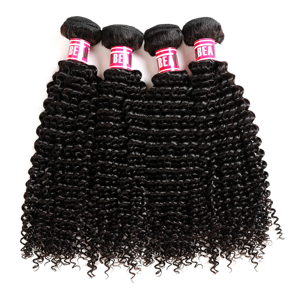 Msbeauty 2019 Curly Hair Bundles Best Seller Grade 8A 4Pcs/ Lot Sales Peruvian Remy Hair - MSBEAUTY HAIR