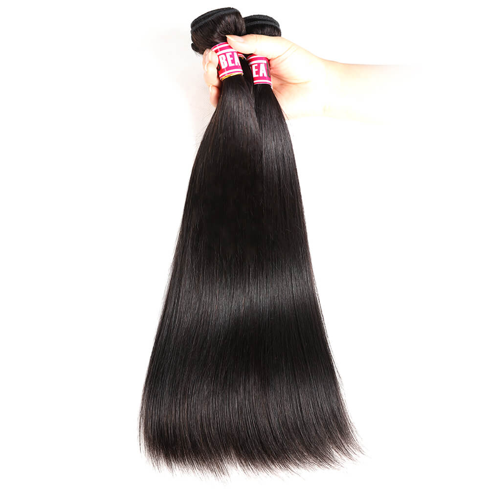 Msbeauty Straight Virgin 8A Indian Remy Unprocessed Human Hair Bundles Deal - MSBEAUTY HAIR