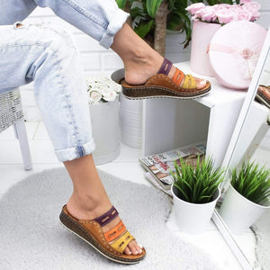 2019 Women Summer Comfy Summer Sandals Shoes - esilvia