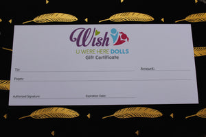 Gift Voucher - Wish U Were Here Doll