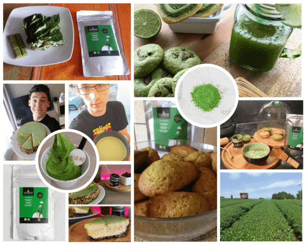 culinary matcha tea from Japan