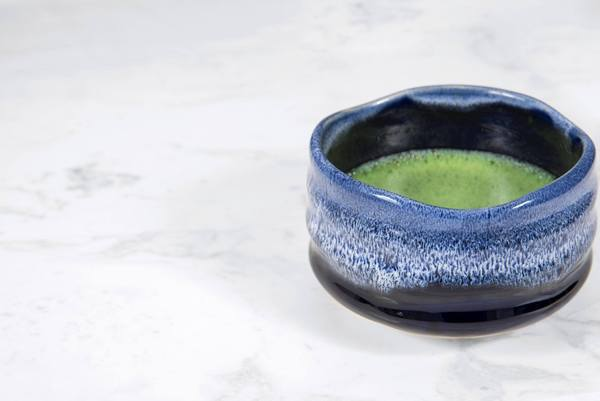foam series traditional chawan matcha bowl