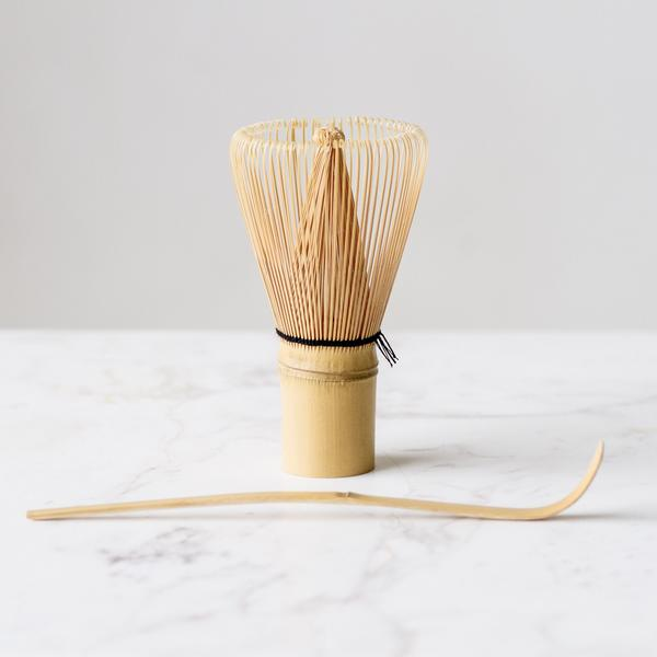 set of bamboo accessories
