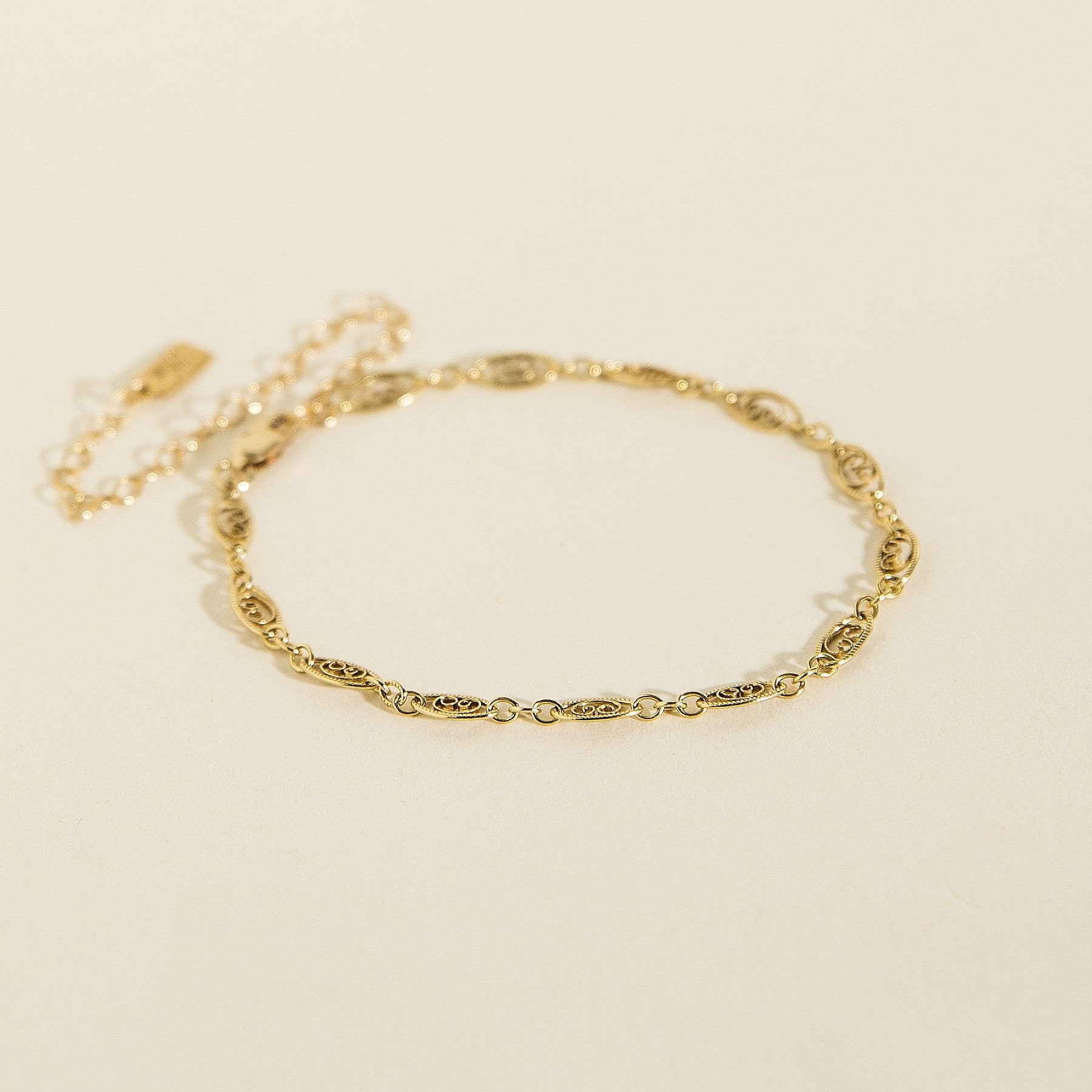 supreme gram online wide plated anklet one bridal designer gold kollam buy