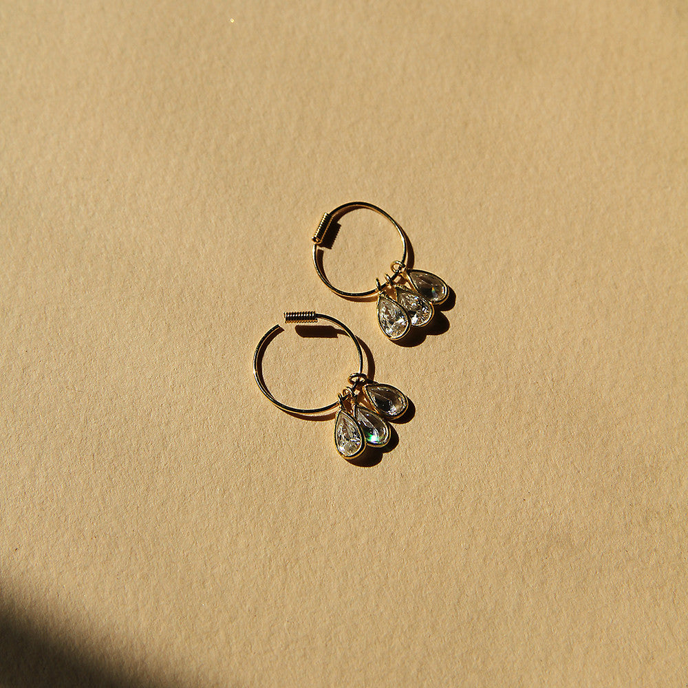 Valentina Hoop Earrings