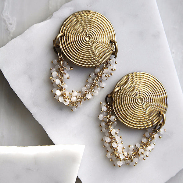 Keya Earrings - Haati Chai