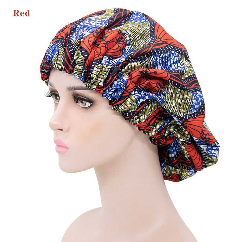 Super Fashion Women's  Wearing Bonnets Sleeping Different Style - Rose Hair