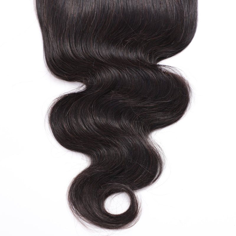 1PCS Brazilian Body Wave Virgin 7x7 Lace Closure - Rose Hair