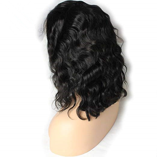 Body Wave Short Cut 13x4 Frontal Lace Wig - Rose Hair