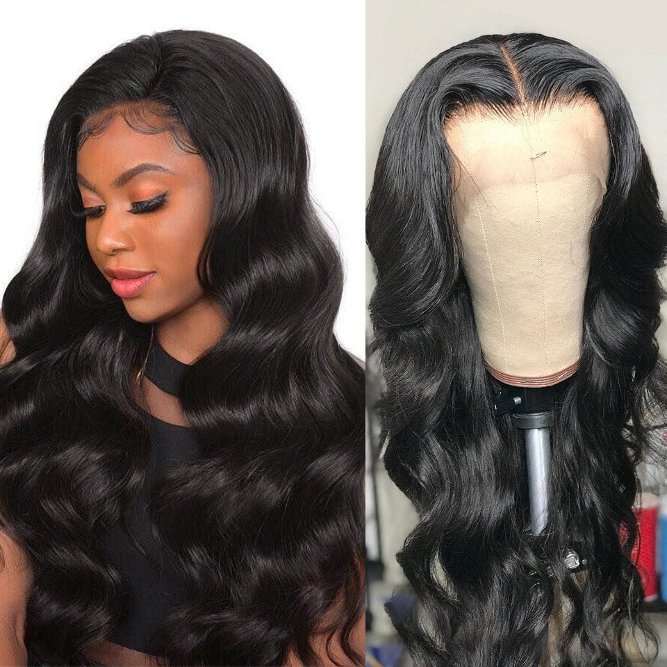 RoseHair Real Transparent 360 Lace Wig Pre Plucked Swiss Lace Best Human Virgin Hair - Rose Hair